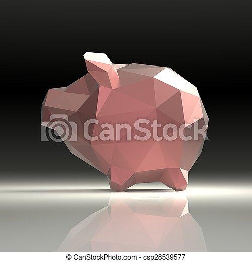 Piggy bank - csp28539577