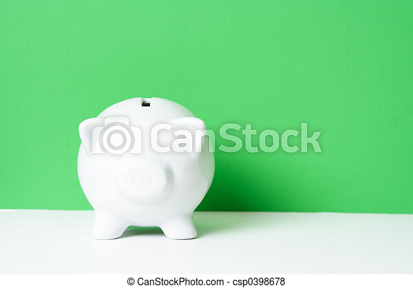 Piggy bank - csp0398678