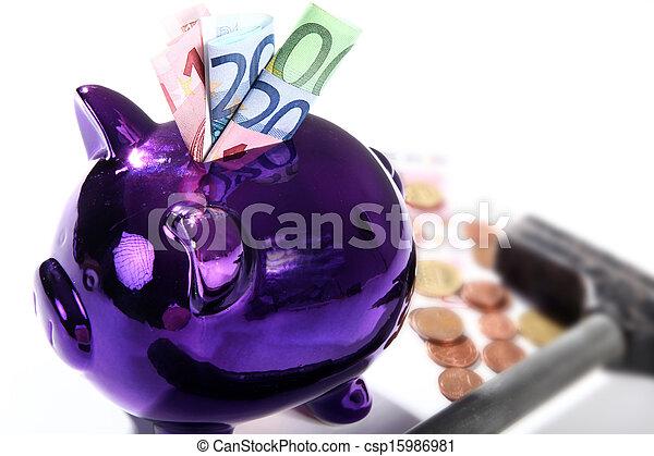 piggy bank - csp15986981
