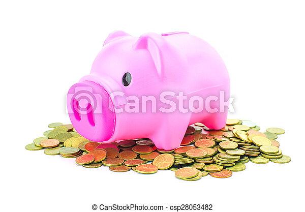 Piggy bank - csp28053482