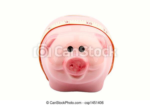 Piggy Bank - csp1451406