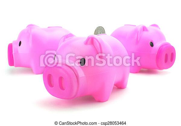 Piggy bank - csp28053464
