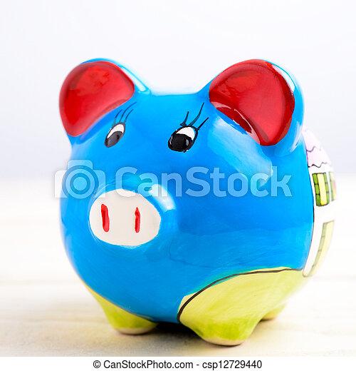 Piggy bank - csp12729440