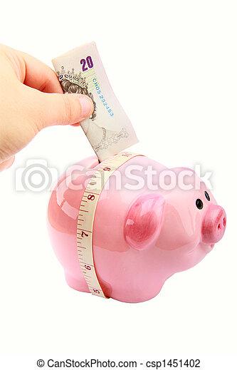 Piggy Bank - csp1451402