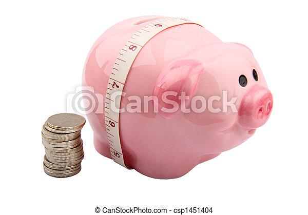 Piggy Bank - csp1451404