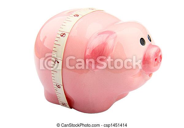 Piggy Bank - csp1451414