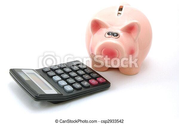 piggy bank - csp2933542
