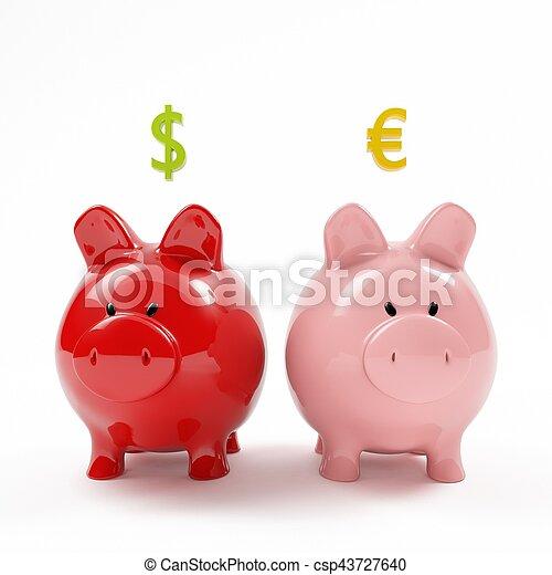 piggy bank - csp43727640