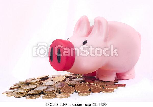 piggy bank - csp12846899