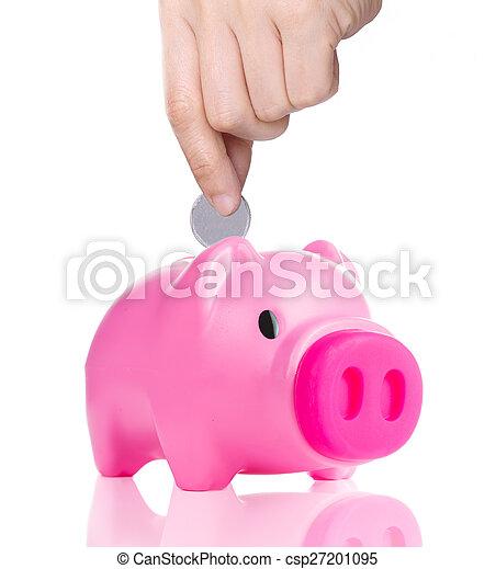 Piggy bank - csp27201095