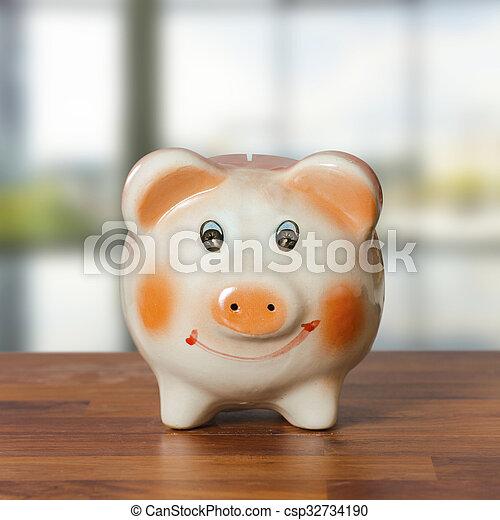 Piggy bank - csp32734190
