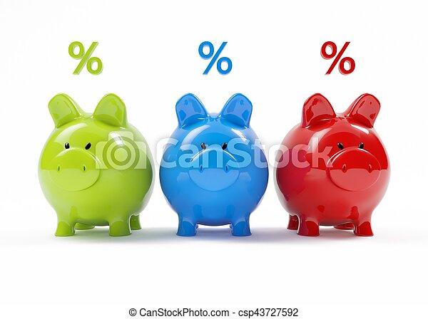 piggy bank - csp43727592
