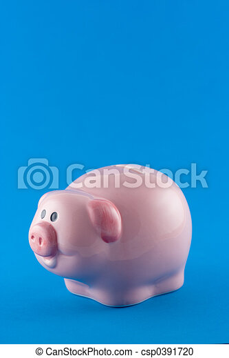 Piggy Bank - csp0391720