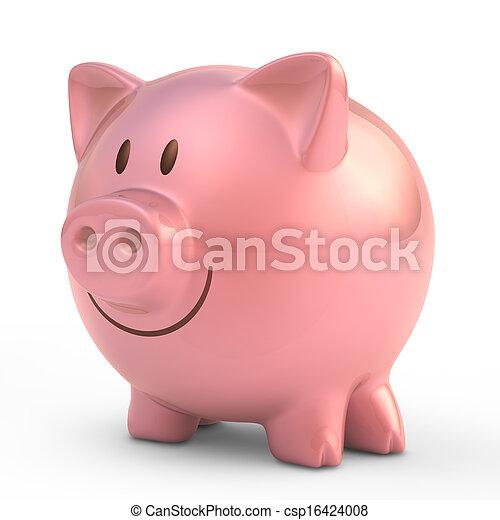 Piggy Bank - csp16424008