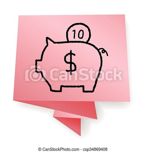piggy bank - csp34869408