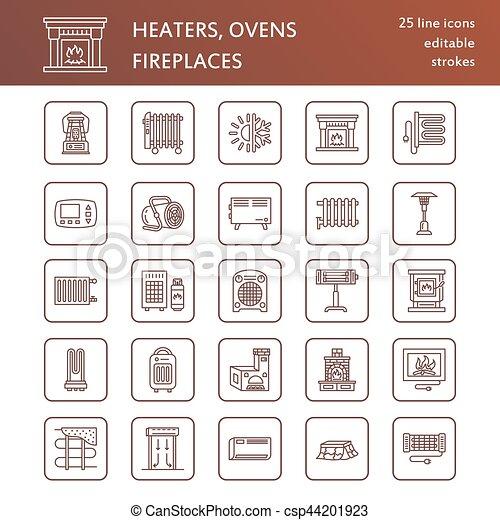piktogramm haus haushaltsger te zeichen schilder daheim kaminofen oven convector. Black Bedroom Furniture Sets. Home Design Ideas