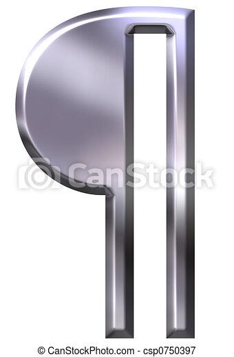 Pilcrow Paragraph Symbol - csp0750397