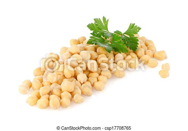 Pile of chickpeas - csp17708765