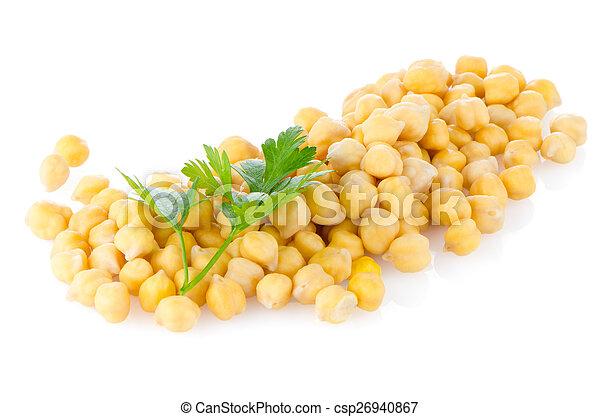 Pile of chickpeas - csp26940867
