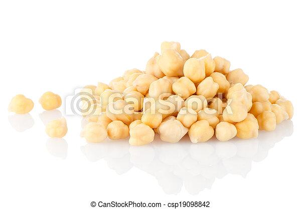 Pile of chickpeas - csp19098842