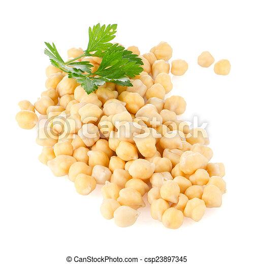 Pile of chickpeas - csp23897345