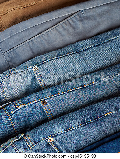 Blue different jeans color Levi's Men's