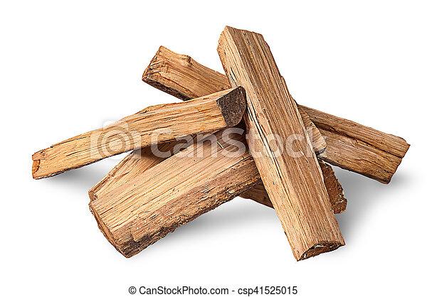 Pile of firewood - csp41525015