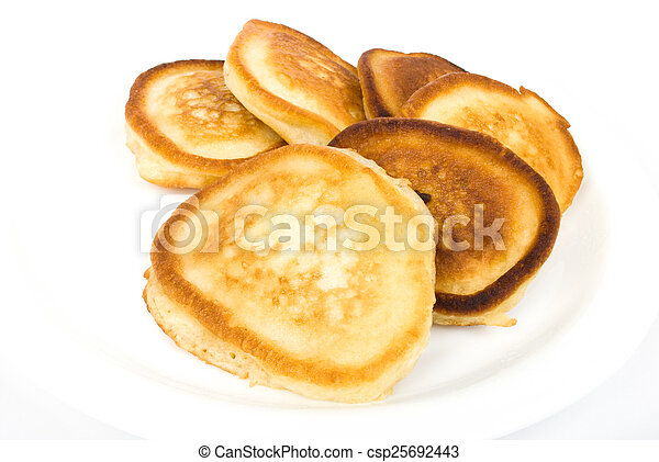 pile of fritters - csp25692443