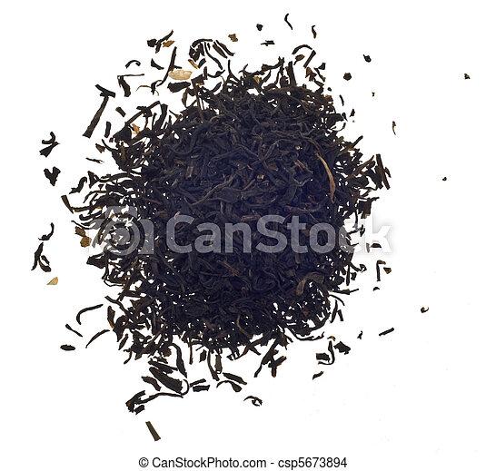 Pile of Loose Jasmine Tea - csp5673894