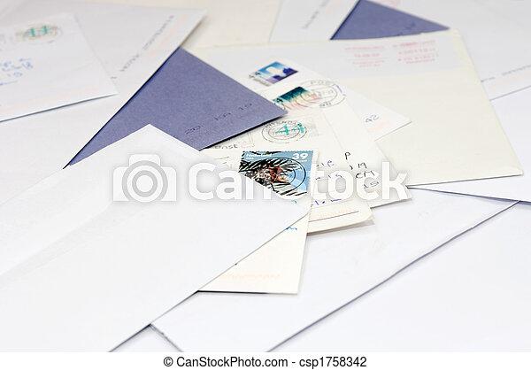 Pile of mail - csp1758342