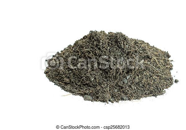 Pile of soil - csp25682013