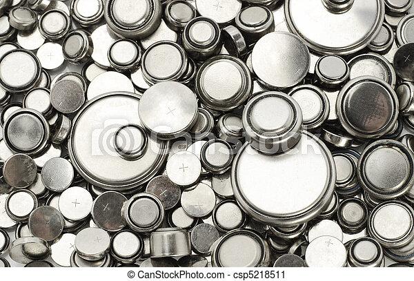 piles, lithium, divers, tailles - csp5218511
