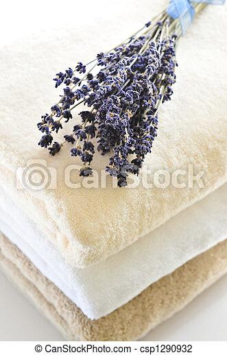 pilha, toalhas - csp1290932