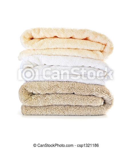 pilha, toalhas - csp1321186