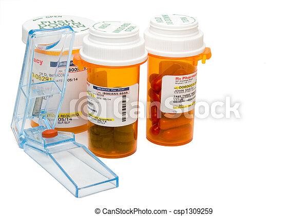 Pill Cutter - csp1309259