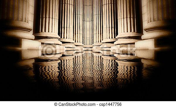 Pillar close-up - csp1447756
