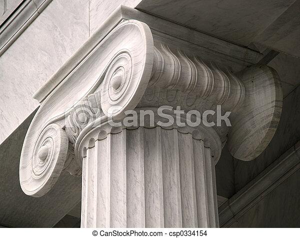 Pillar of Law - csp0334154