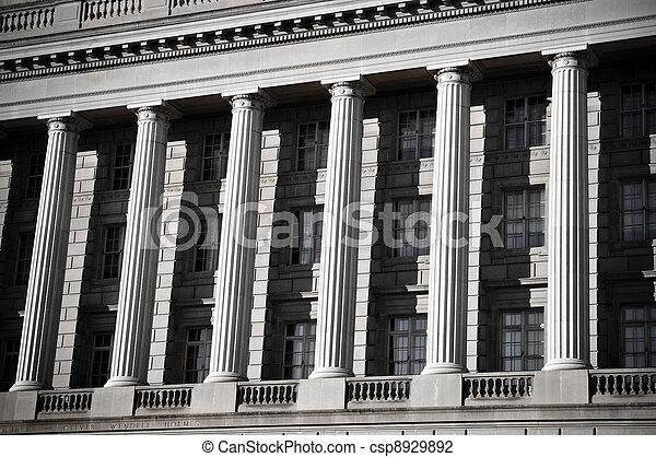 Pillars of Law - csp8929892