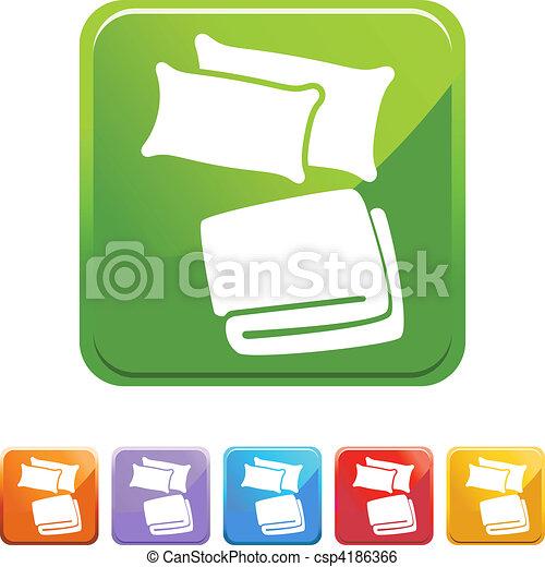 Pillow Blanket - csp4186366