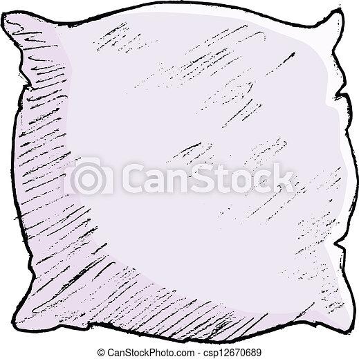 pillow - csp12670689