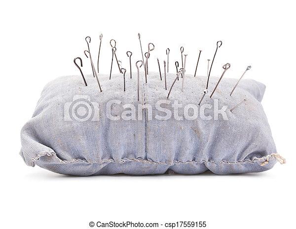 pillow for needles - csp17559155