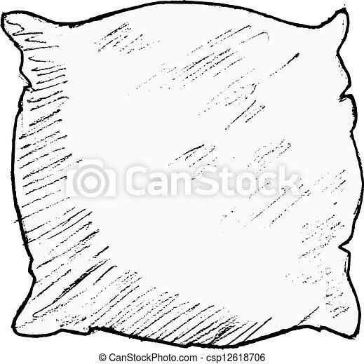 pillow - csp12618706