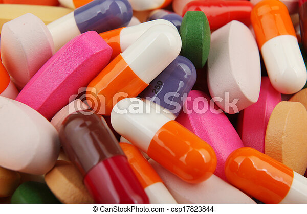 pills and capsules - csp17823844