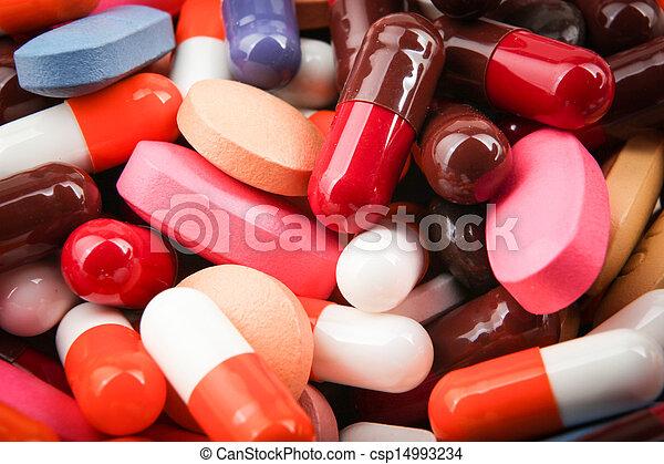 pills and capsules - csp14993234