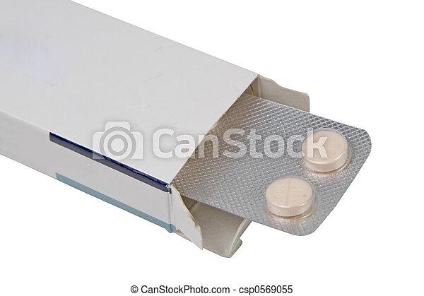 Pills box - csp0569055