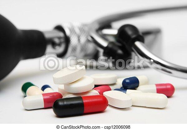 Pills concept - csp12006098