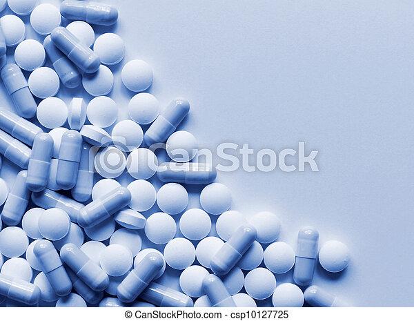 Pills Medicine Background - csp10127725