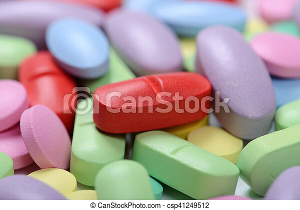 pills - csp41249512