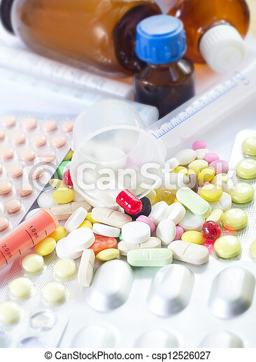 pills - csp12526027