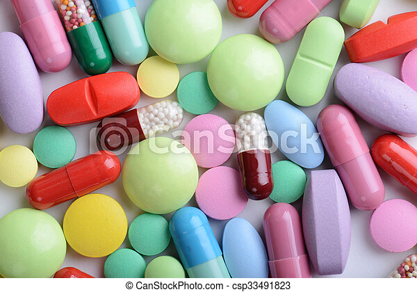 pills - csp33491823